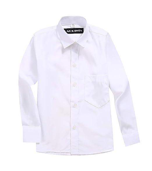 Amazon.com: AOLIWEN - Camisa de manga larga para niño, color ...