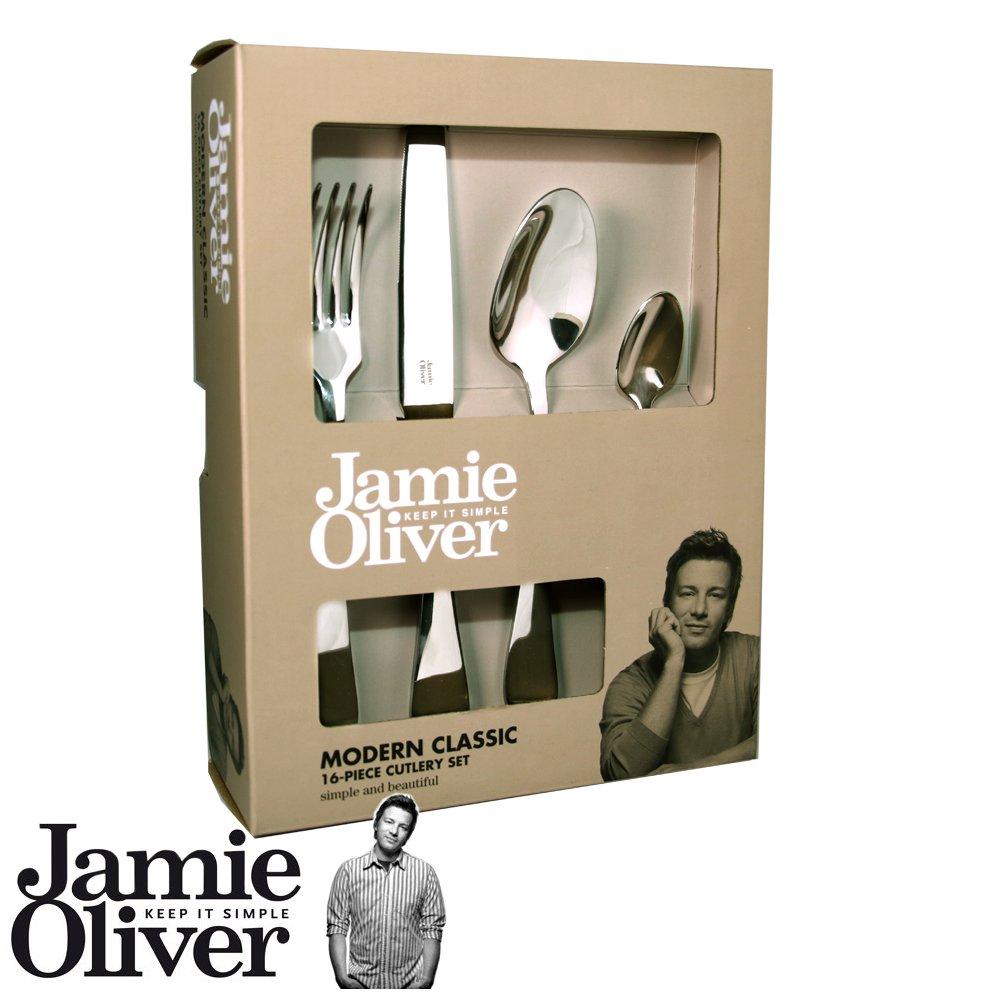 Jamie Oliver Modern Classic Besteckset, 16-teilig