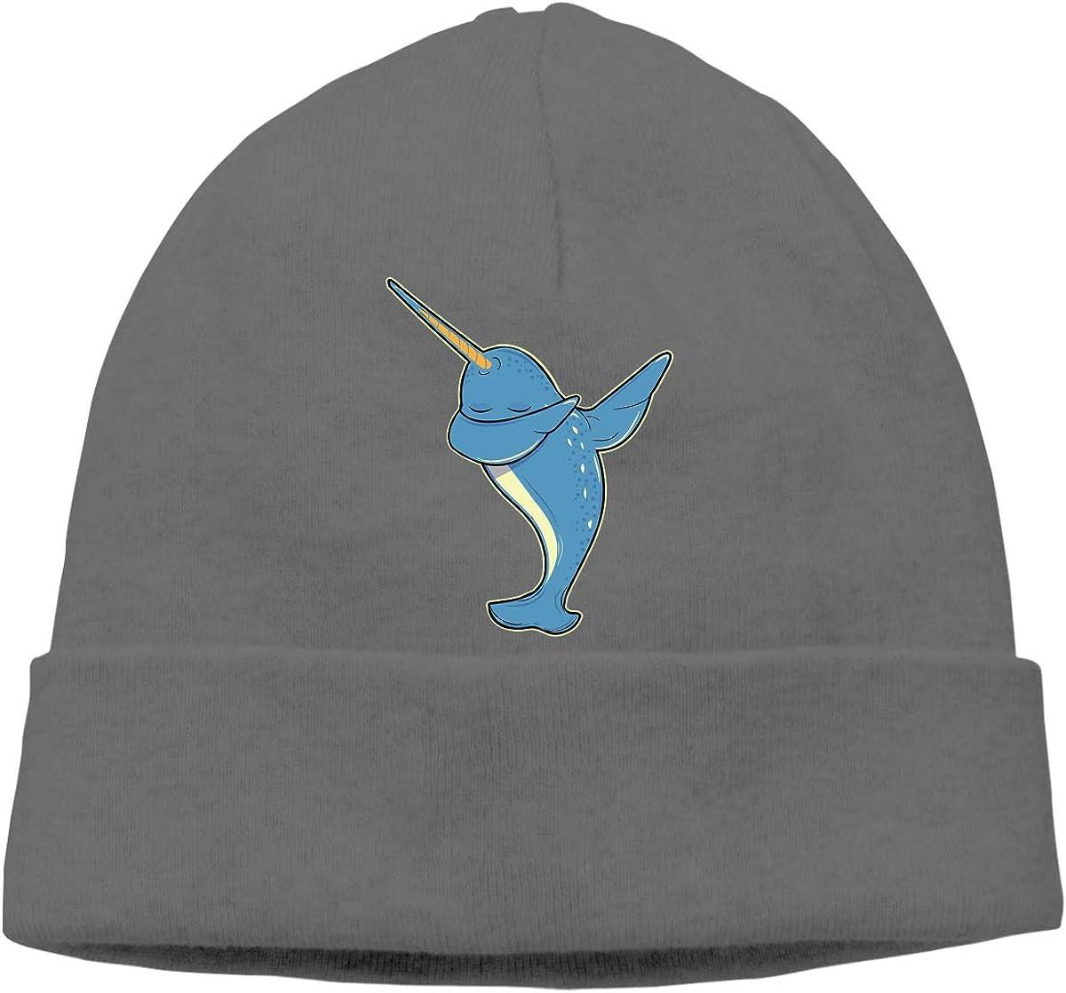 GDSG5/&4 Dabbing Narwhal Unisex Helmet Liner Winter Ski Beanie Hats