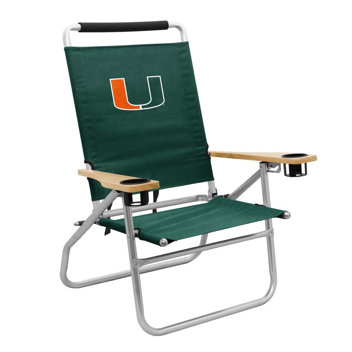 NCAA Miami Hurricanes Beach Chair