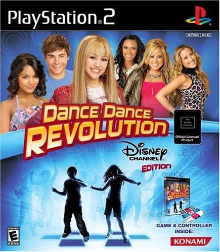 dance-dance-revolution-disney-channel-edition-bundle-includes-dance-mat-playstation-2