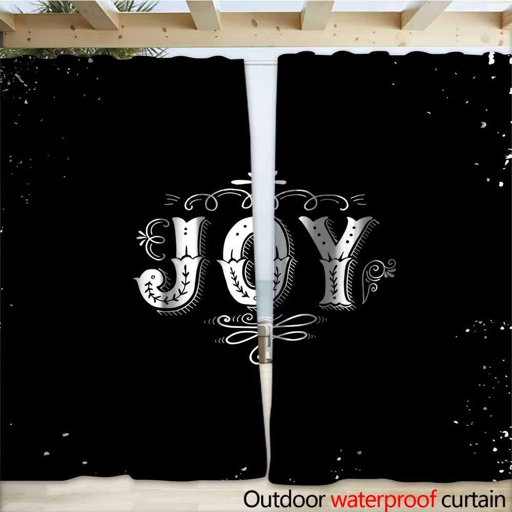 warmfamily Joy - Cortina para Exteriores, diseño Inspirador con ...