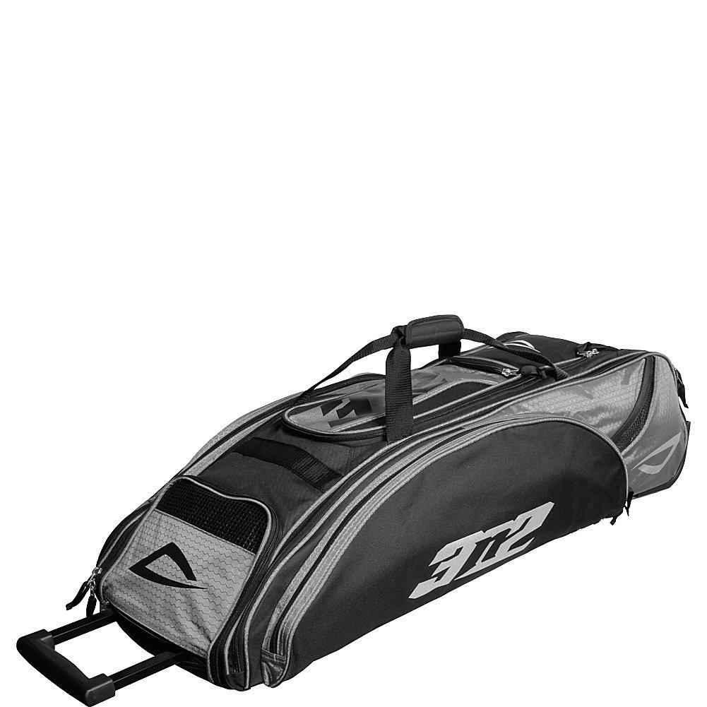 3 N2 GoバッグスポーツRolling Duffel B004QFHJAY ブラック/シルバー ブラック/シルバー