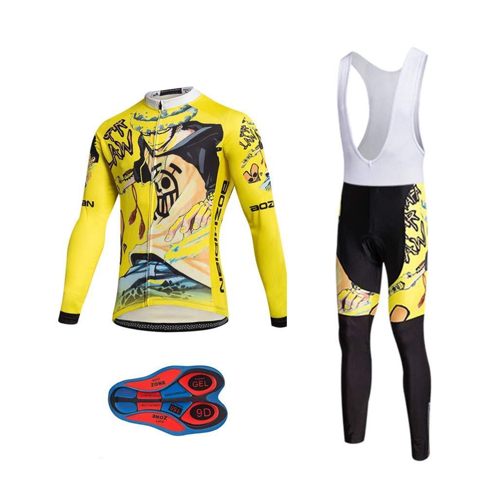 Almohadilla de Asiento de Gel 9D para Montar En Bicicleta Conjunto C/ómodo y De Secado R/ápido Bib Shorts Acolchados Moxilyn Ropa de Ciclismo para Hombre Traje de Bicicleta Conjunto de Verano Top