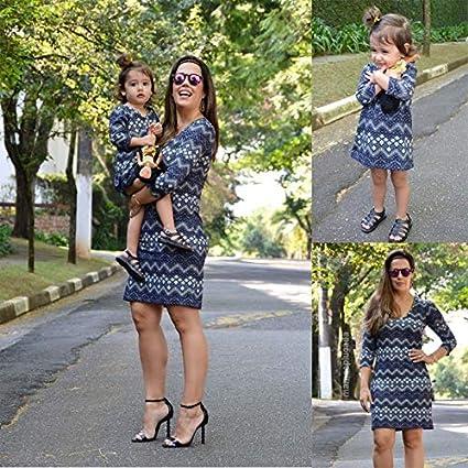 buscar original adecuado para hombres/mujeres buscar oficial wangxiyan - Conjunto de Ropa para Madre e Hija, diseño de ...