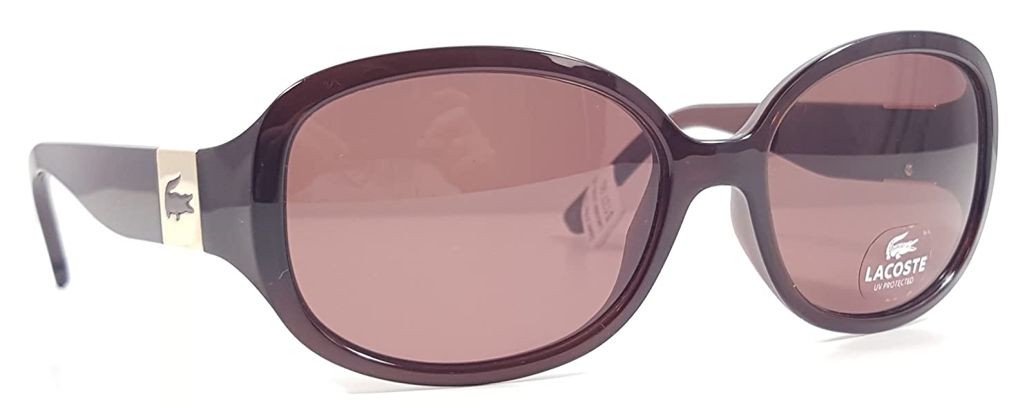 e47b331f3af1 Lacoste Sunglasses - L506S (Brown)  Amazon.co.uk  Clothing