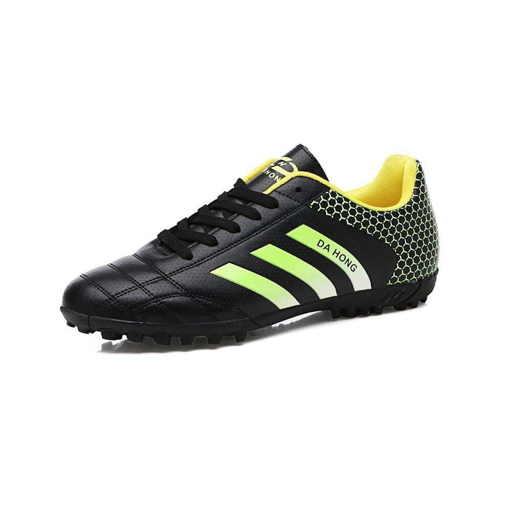 Men's Shoes CJC Shoes Unisex Spikes Teenagers Training Boys Girls Astroturf Blade Football Trainers (Color : T1, Size : EU35/UK3)