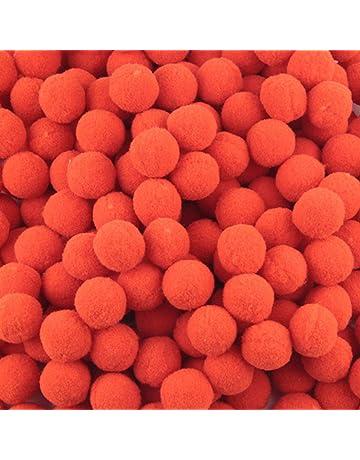 Paquete de 500 mini pompones esponjosos de alta densidad con pompones para manualidades, joyería,