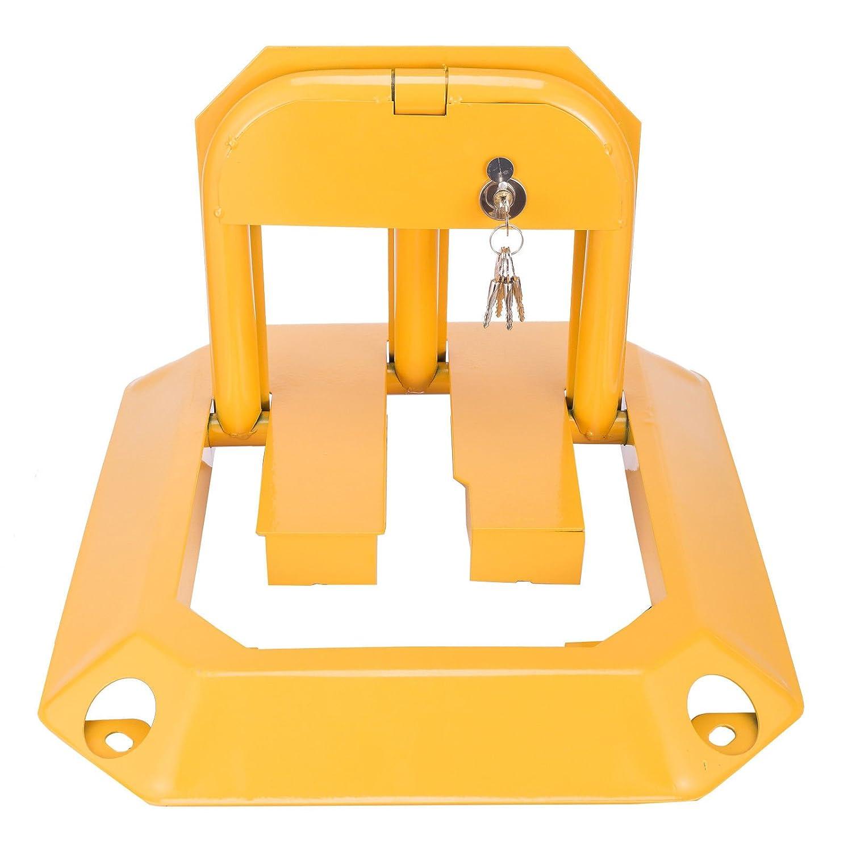 MERITON ParkWatch Aparcamiento Ranura para aparcamiento (Park Bü gel estribo de bloqueo + 5 llaves)