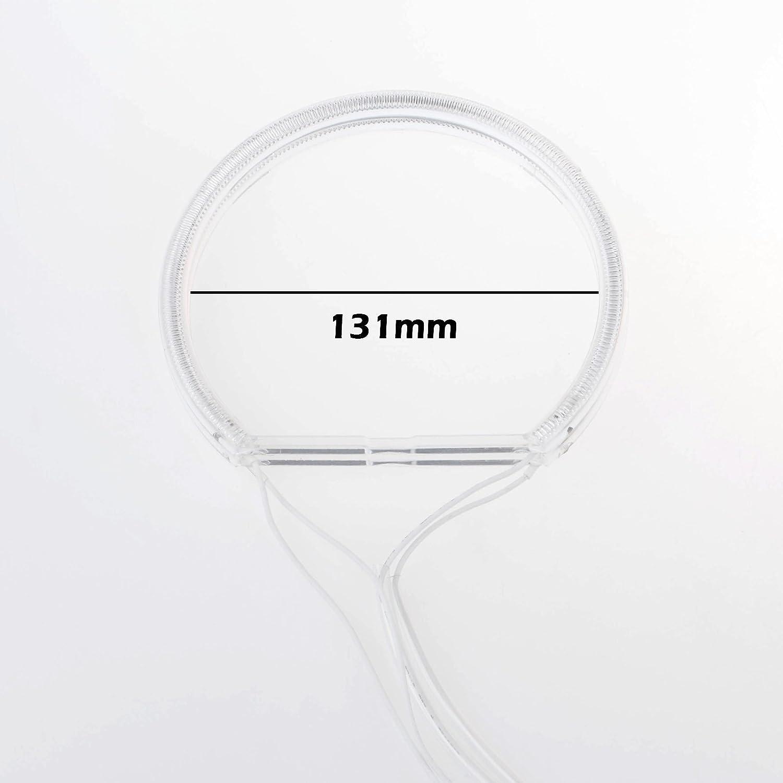 LemonBest/® 7000K Super Bright White Angel Eye Halo-Ring-Licht-Lampe CCFL F/ür E46 E36 E39