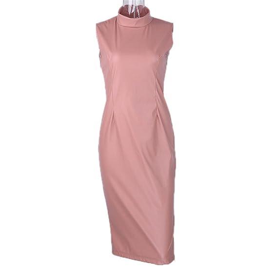 Eloise Isabel Fashion dress couro pu manga menos na altura do joelho kim kardashian mesmo dress