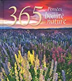 365 pensées sur la beauté de la nature (French Edition)