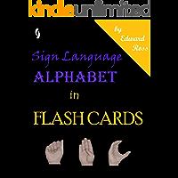 Sign Language Alphabet in Flash Cards