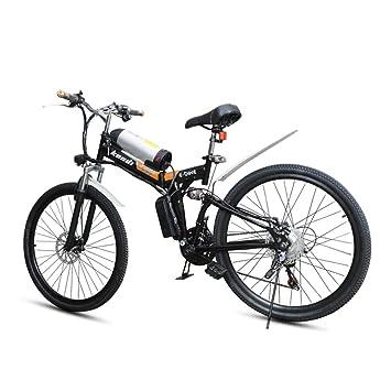 Miraclem Electric Mountain Bike26 Inch Folding E Bike250w Motor