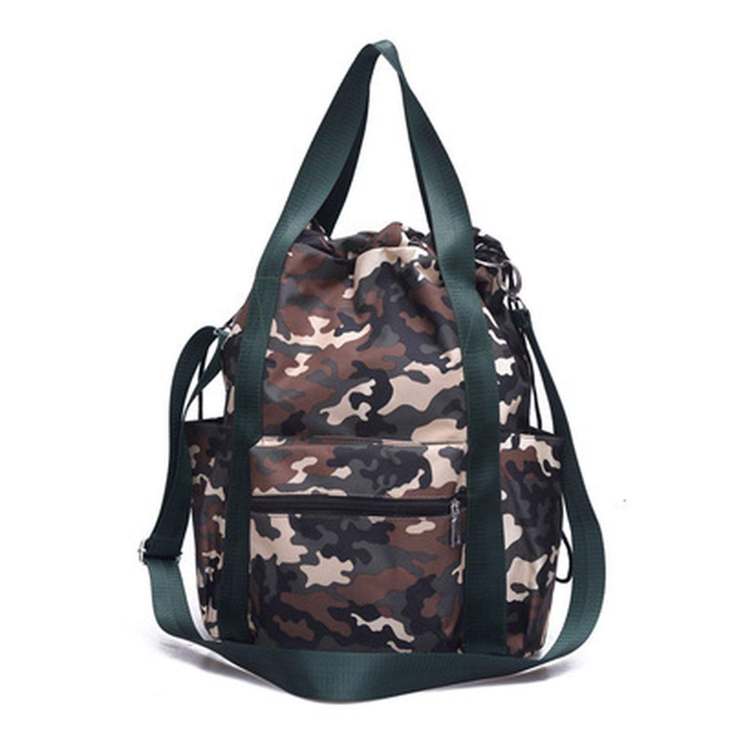 Women Drawstring Backpack Travel Backpack Woman Light Leisure Travel Bag with Multi-Function Bag,3