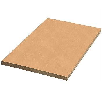 (20x) Planchas de Cartón 60 x 80 cms - Ondulado. Pack de 20
