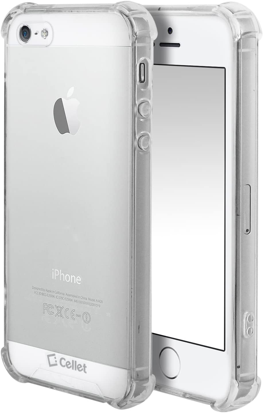 iPhone 5, 5s, SE Case – Apple Cell Phone Case for iPhone 5, 5s, SE by Cellet- Retail Packaging - Clear