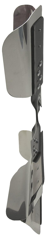 Derale 17019 Heavy Duty Fan Blade Series 1000 19 Stainless Steel Flex Fan Standard Rotation