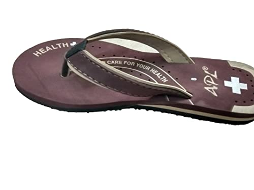 a6882869d6c3 APL Brown Ladies Slippers  Buy Online at Low Prices in India - Amazon.in