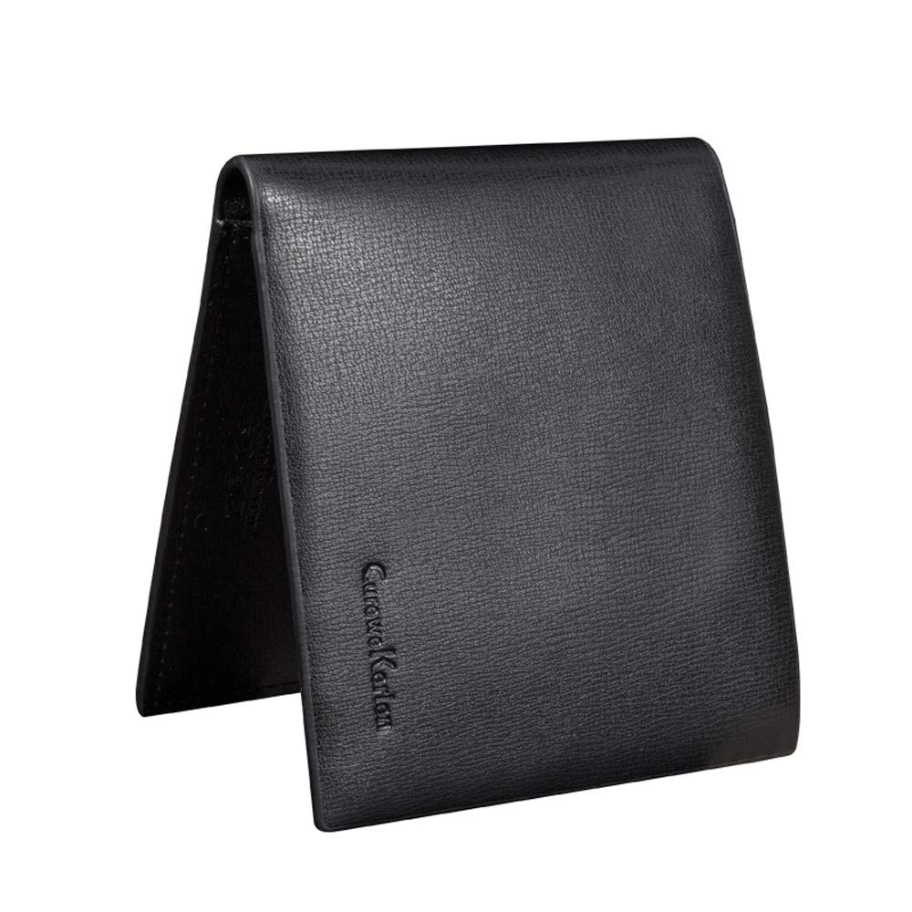 Blocking Mens Designer Quality Real Distressed Leather Wallet Credit Card Holder Purse Gift