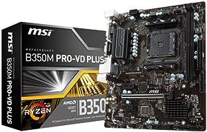 MSI - Motherboard MSI 911-7B38-004 B350M PRO-VD PLUS PC 32 GB