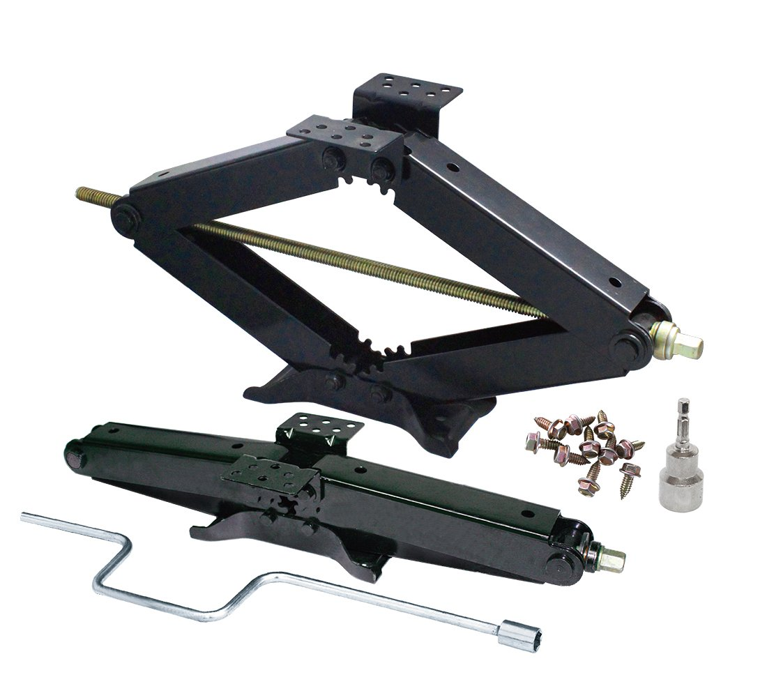 2PK COMBO - 3 3/4 TON RV JACK COMBO W/HANDLE & Socket - 24' LIFT - 7500 LBS Prograde