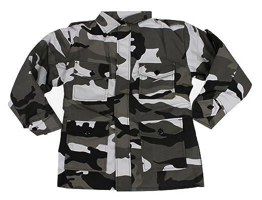 f9ef88833 Top Gun Kids Combat Jacket Childrens Army Clothing Uniform CAMO ...
