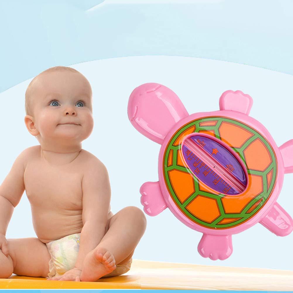rose grenouille * YGQersh Testeur de thermom/ètre de leau de la baignoire b/éb/é animaux de dessin anim/é mignon enfants b/éb/é