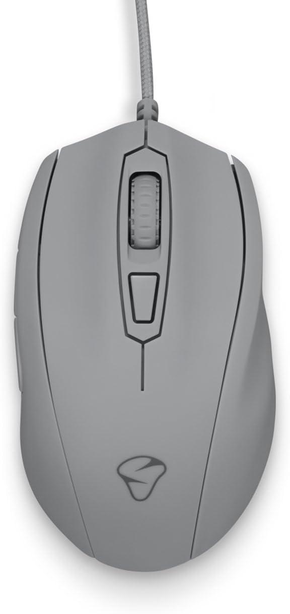 Mouse Optico Para Juegos Mionix Castor Shark Fin (gris)