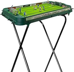 JKLL Mesa de futbolín, Accesorios de Mini Juegos de Billar de Mesa Tableros de fútbol Juegos de Competencia Juegos de Deportes Noche Familiar: Amazon.es: Deportes y aire libre