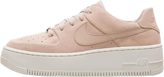 Nike Women's W Af1 Sage Low Fitness Shoes White : Amazon.de: Shoes ...
