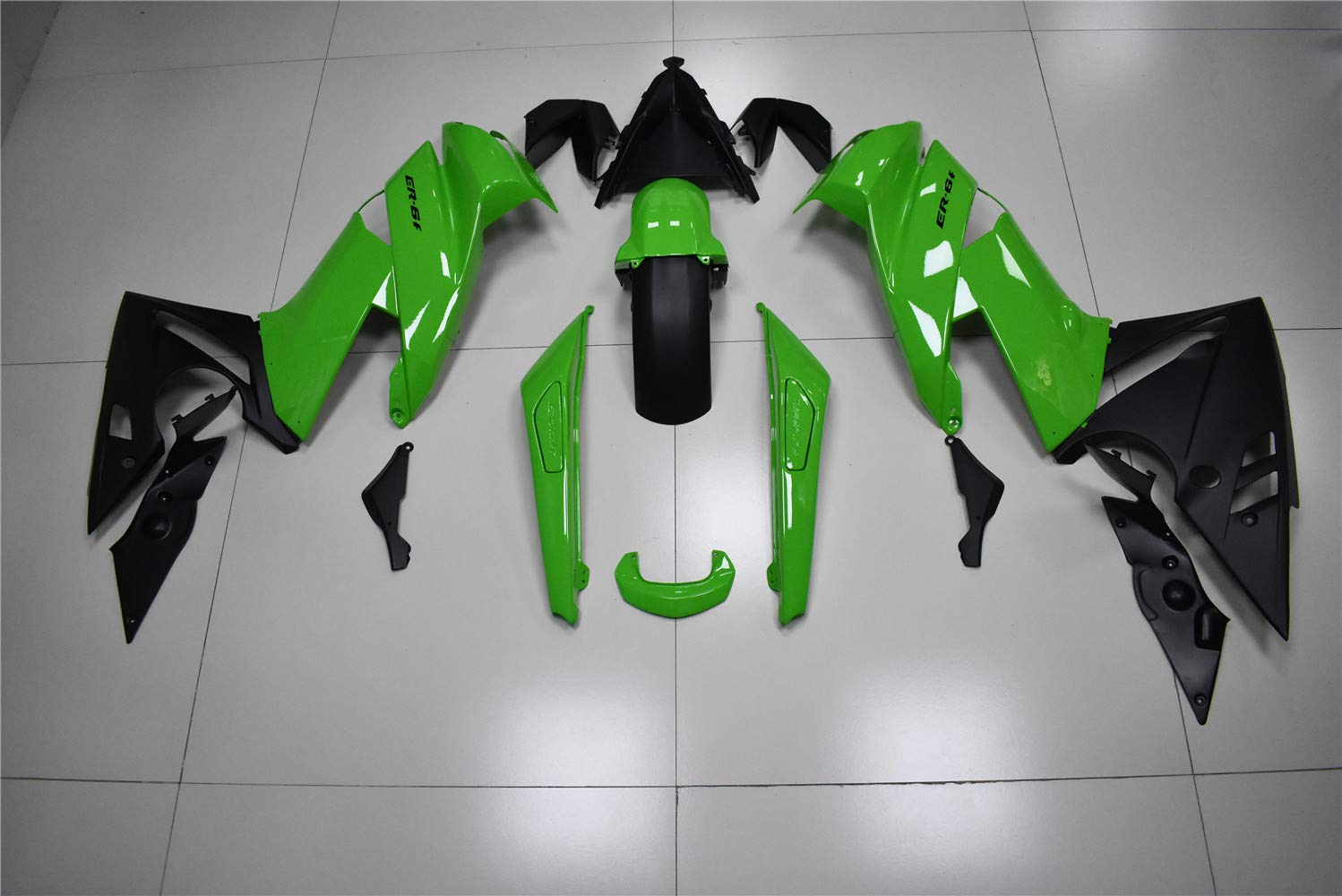 NT FAIRING Glossy Matte Black Fairing Fit for KAWASAKI NINJA 2009 2010 2011 650R New ABS Plastics Bodywork Body Kit Bodyframe Body Work 09 10 11