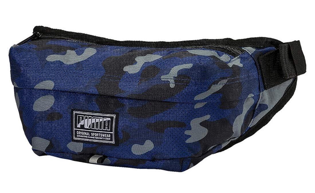 fbadcb48fe1f PUMA Academy Waist Bag Blue Depths-Camo AOP  Amazon.co.uk  Shoes   Bags