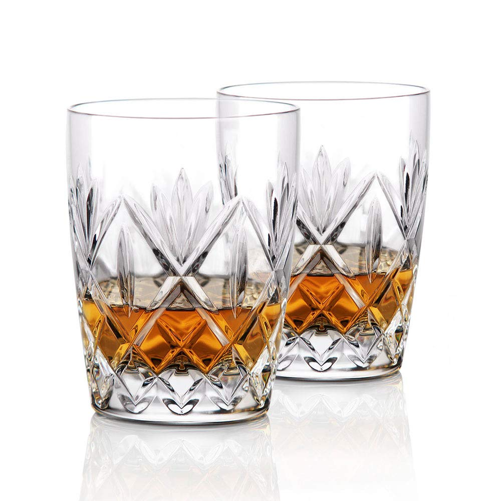 Waterford Crystal, Huntley Crystal DOF Whiskey Tumblers, Pair by Waterford (Image #1)
