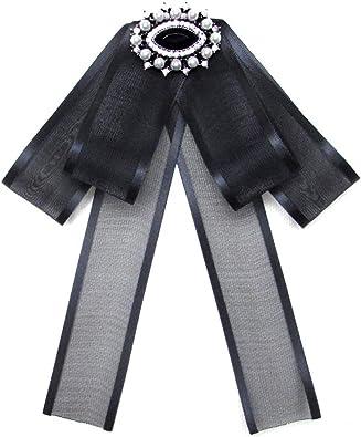 auvwxyz. Broches Corbata De Lazo, Suéter De Mujer, Camisa, Cuello ...