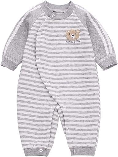 PAUBOLI - Pijamas de bebé de una sola pieza de invierno ...