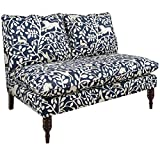 Skyline Furniture Pantheon Admiral Armless Fabric Loveseat