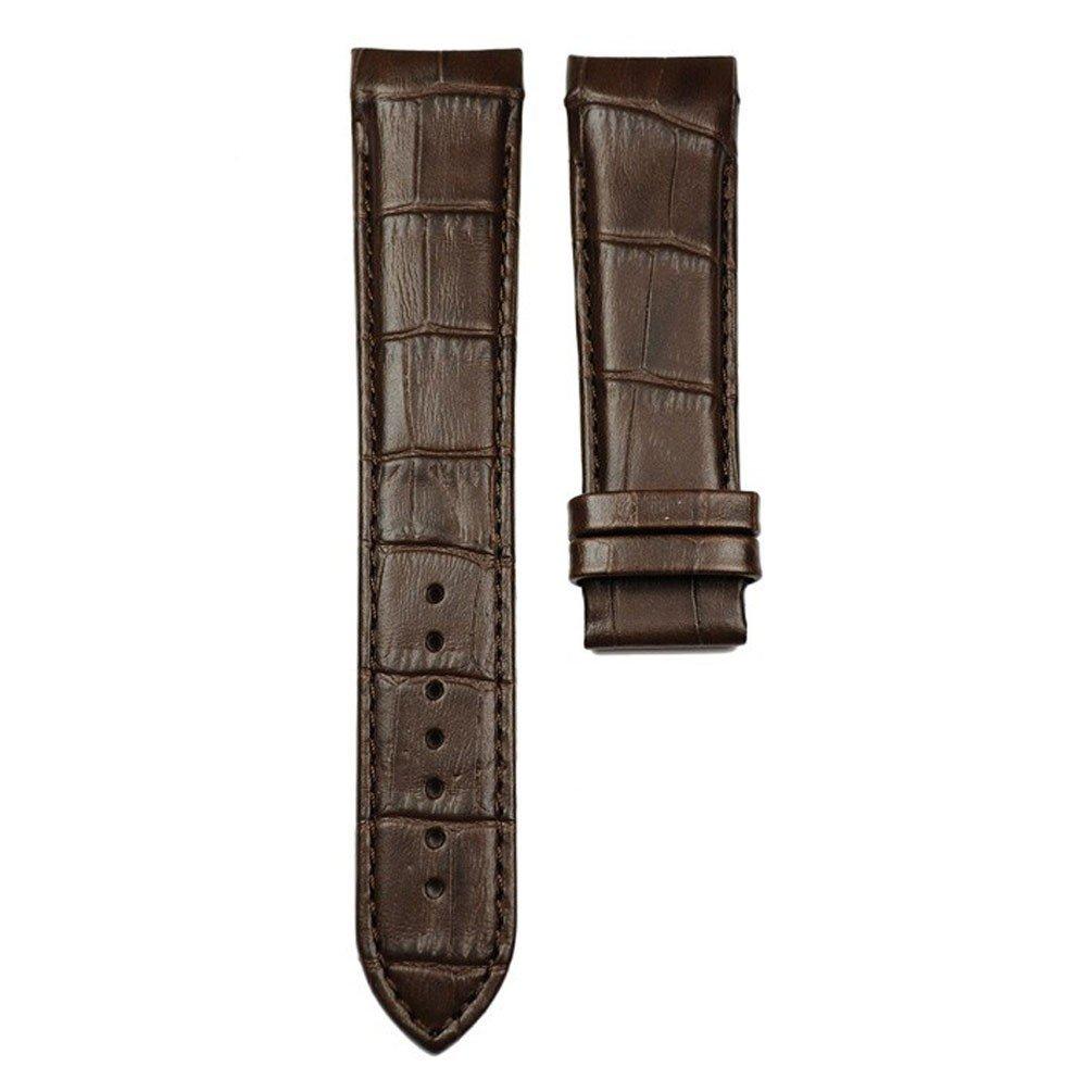 Brown leather strap quartz chronograph Tissot Couturier size XL T610028586