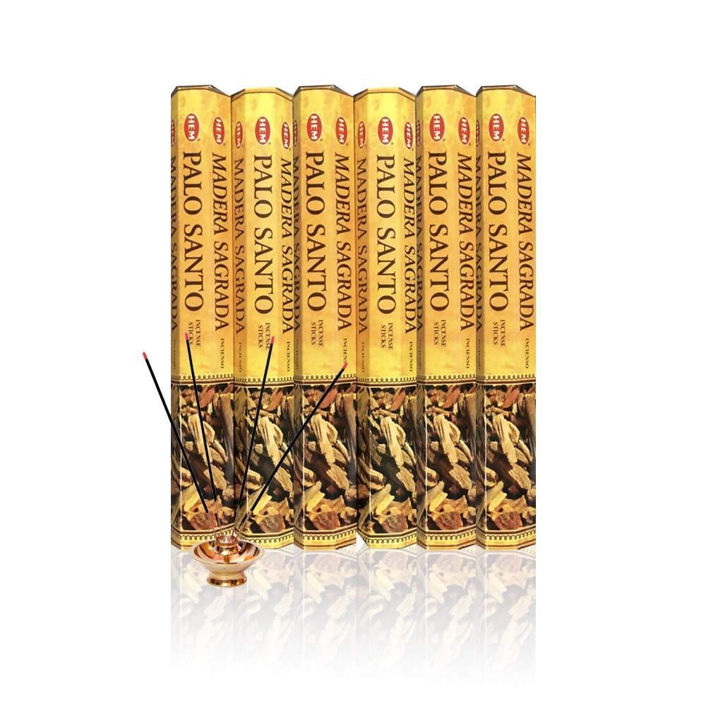 HEM Incense Sticks 120 Bulk Pack – Palo Santo (6 x 20)