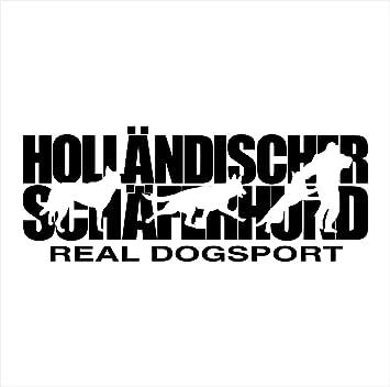 Siviwonder Auto Aufkleber Holländischer Schäferhund