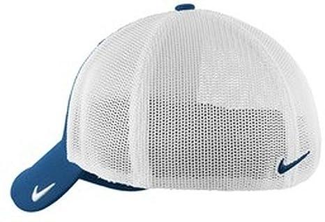 fa3b6f36b Nike Golf Mesh Back Cap, Medium/Large, Blue