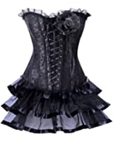 Alivila.Y Fashion Sexy Vintage Lace Gothic Corset 2753 With G-String