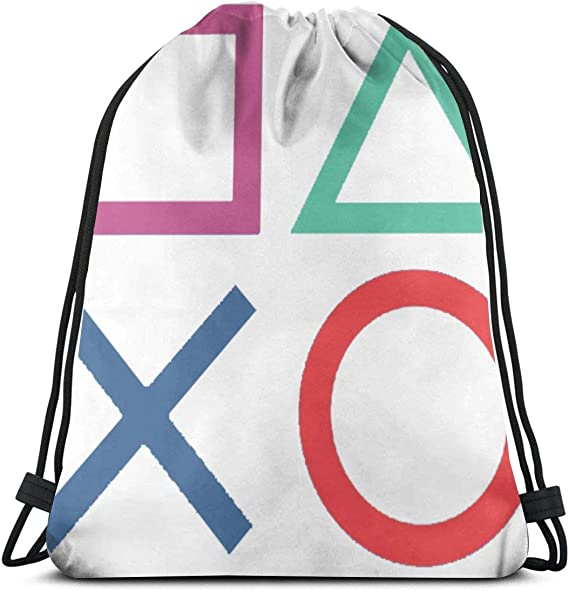 Personalised PS4 Gaming gamer Gym swimming pe school pump bag gift sport