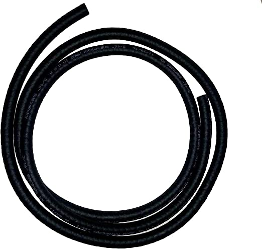 """5//16/"""" Universal Motorcycle Rubber Fuel Oil Line 1 Foot"""