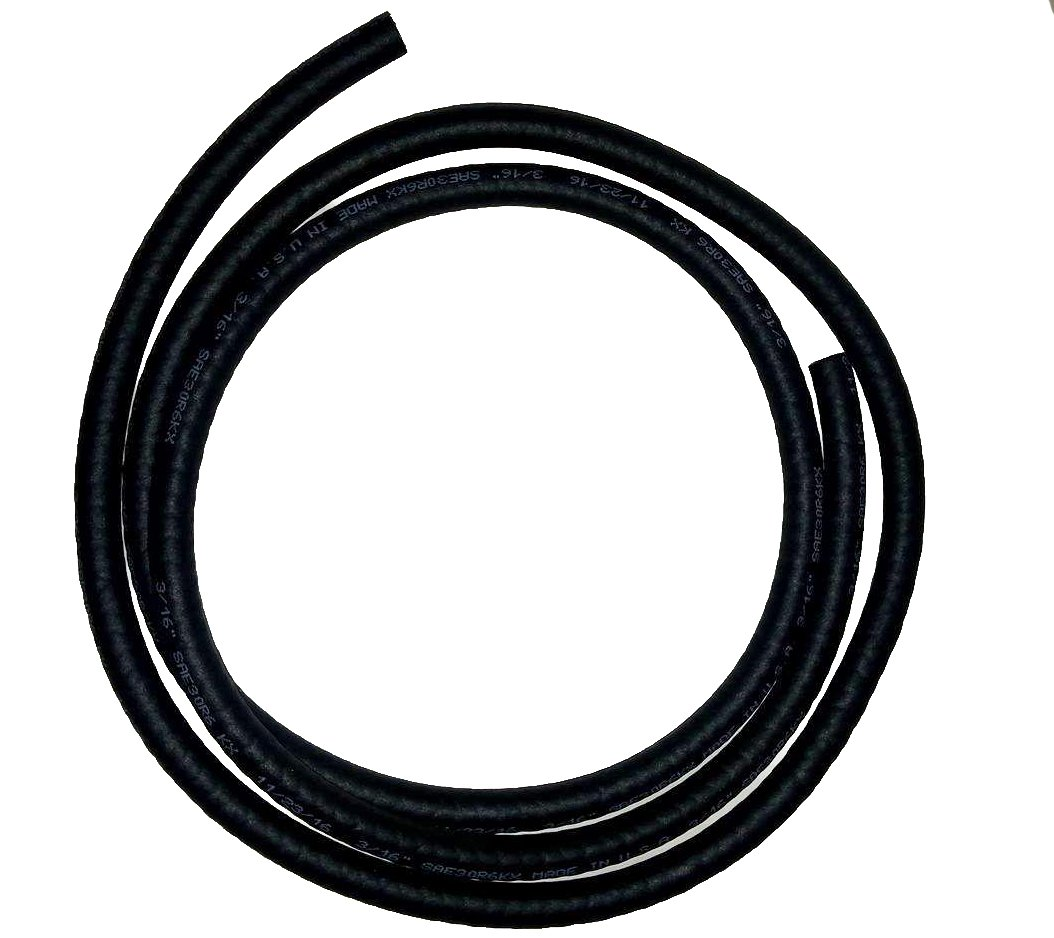 PRO 1 Fuel Line 3/16 Inch Inside Diameter X 5 Feet Length SAE30R6KX Thermoid