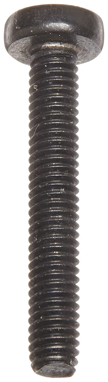 Fully Threaded Black Oxide Finish Meets DIN 7985 Pack of 50 M4-0.7 Thread Size 18-8 Stainless Steel Pan Head Machine Screw 25 mm Length #2 Phillips Drive Imported Small Parts M425MPP188B