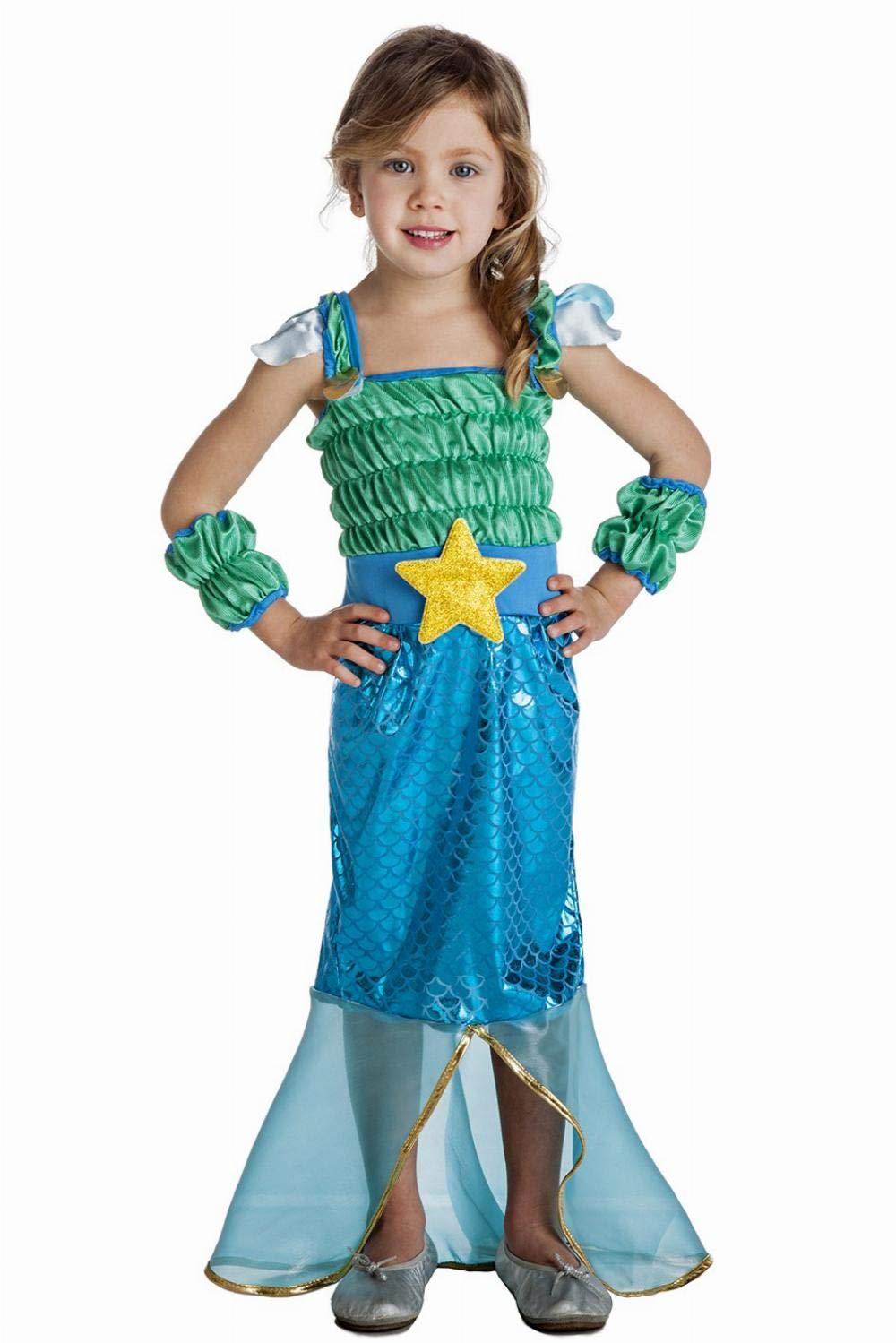 Disfraz de Sirenita Infantil (5-6 años): Amazon.es: Juguetes y juegos