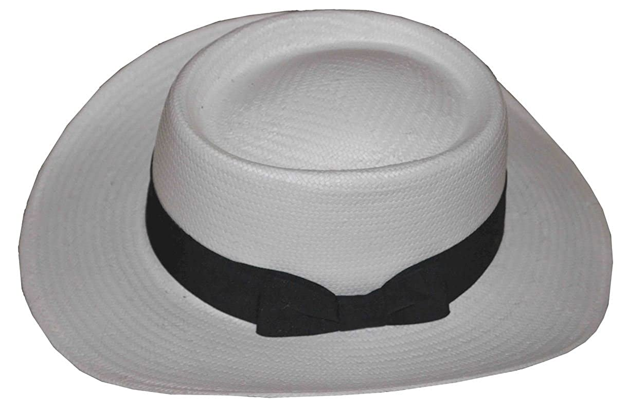 dbe30258ea4 K Men s Gambler Toyo Hat White at Amazon Men s Clothing store