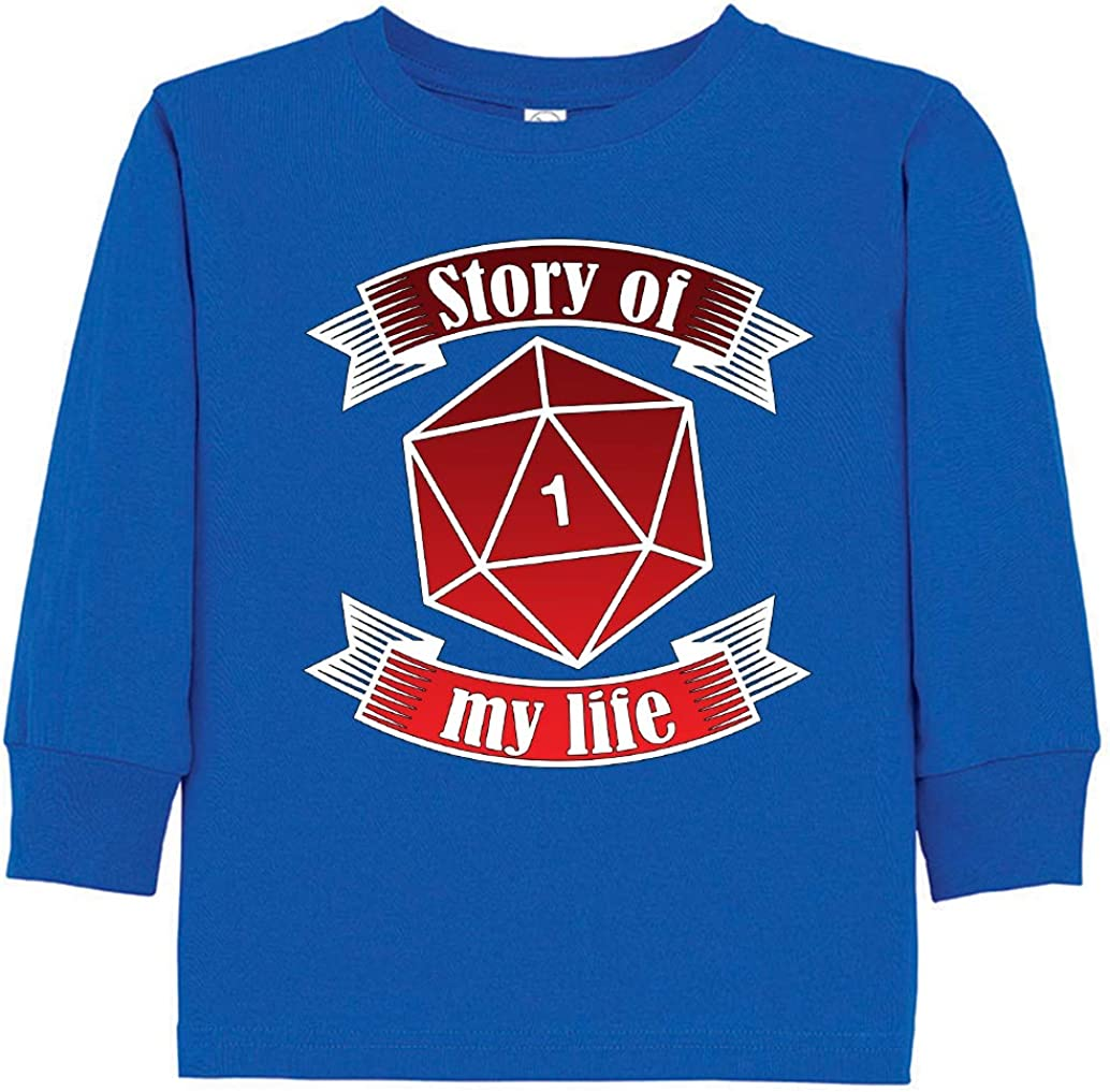 Tenacitee Toddlers Story of My Life Long Sleeve T-Shirt