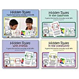 Hidden Rules Card Games - Set of 4